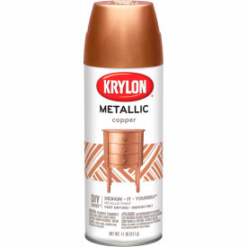Krylon Metallic Paint Copper Metallic - K02203007 - Pkg Qty 6