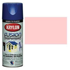 Krylon Fusion For Plastic Paint Gloss Fairytale Pink - K02331007 - Pkg Qty 6