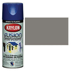 Krylon Fusion for Plastic Paint Metallic Shimmer Nickel Shimmer