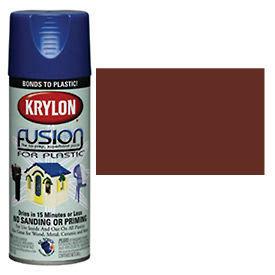 Krylon Fusion For Plastic Paint Gloss Espresso - K02340007 - Pkg Qty 6