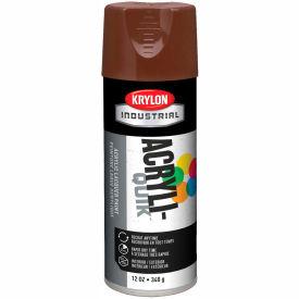 Krylon (5-Ball) Interior-Exterior Paint Leather Brown - K02501 - Pkg Qty 6