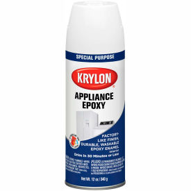 Krylon Appliance Epoxy Paint White - K03201007 - Pkg Qty 6