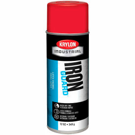 Krylon Industrial Iron Guard Latex Spray Paint Osha Red - K07902000 - Pkg Qty 12