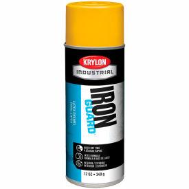 Krylon Industrial Eco-Guard Latex Spray Paint Osha Yellow - K07904 - Pkg Qty 12