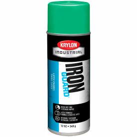 Krylon Industrial Iron Guard Latex Spray Paint Osha Green - K07905000 - Pkg Qty 12