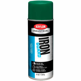 Krylon Industrial Eco-Guard Latex Spray Paint Island Green - K07906 - Pkg Qty 12