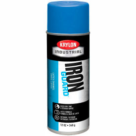Krylon Industrial Iron Guard Latex Spray Paint Osha Blue - K07907000 - Pkg Qty 12