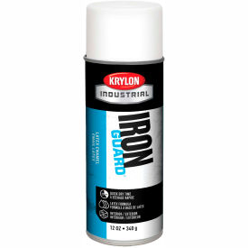 Krylon Industrial Iron Guard Latex Spray Paint Flat White - K07910000 - Pkg Qty 12