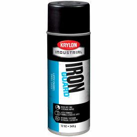 Krylon Industrial Iron Guard Latex Spray Paint Satin Black - K07913000 - Pkg Qty 12