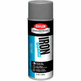 Krylon Industrial Iron Guard Latex Spray Paint Satin Gray - K07914000 - Pkg Qty 12