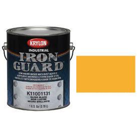 Krylon Industrial Iron Guard Acrylic Enamel New Cat Yellow - K11004711 - Pkg Qty 4