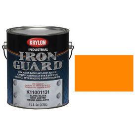 Krylon Industrial Iron Guard Acrylic Enamel Safety Orange (Osha) - K11004991 - Pkg Qty 4