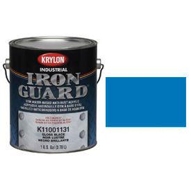 Krylon Industrial Iron Guard Acrylic Enamel Safety Blue (Osha) - K11018001 - Pkg Qty 4