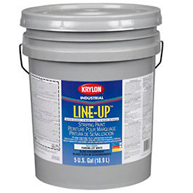 Krylon Industrial Line-Up WB Athletic Field Striping Paint Extreme Hide White