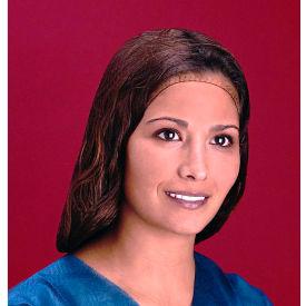 "Lightweight Nylon Hairnet, 100% Latex Free, Dark Brown, 22"", 144/Box, 10 Boxes/Case by"
