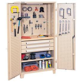 Kennedy® 50301TX Mini Workshop Cabinet - Tan