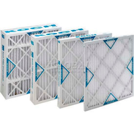 "Koch™ Filter 102-700-009 Merv 8 Std. Capacity Xl8 Pleated Panel Ext. Surface 20""W x 25""H x 1""D - Pkg Qty 12"