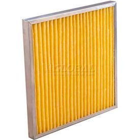 "Koch™ Filter 102-730-007K Multipleat High Temp Oven Filter With Gasket 12""W x 24""H x 2""D - Pkg Qty 12"
