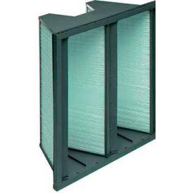 "Koch™ Filter 111-500-101 98% DuraMax 2V Extended Surface W/Plastic Frame 24""W x 24""H x 12""D"