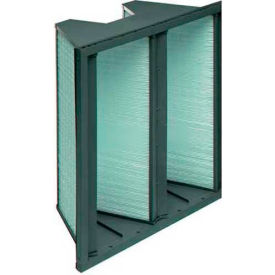 "Koch™ Filter 111-504-101 65% Duramax 2v Extended Surface W/Plastic Frame 24""W x 24""H x 12""D"