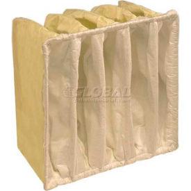 """Koch™ Filter 209-505-915 E-Pak 950 5 Pkt Paint Booth Exhaust Final Filter 20""""W x 25""""H x 15""""D - Pkg Qty 10"""
