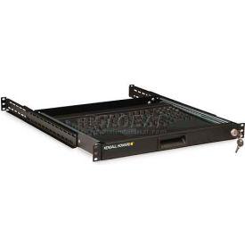Kendall Howard™ 1U 4-Post Rackmount Keyboard Tray