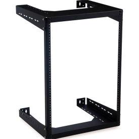 "Kendall Howard™ 15U Open Frame Wall Rack - 18"" Depth"