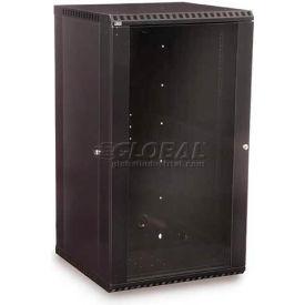 Kendall Howard™ 22U Fixed Wall Mount Cabinet - Glass Door
