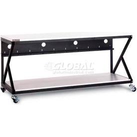 """Kendall Howard™ 72"""" Performance Work Bench With Full Bottom Shelf No Upper Shelving"""