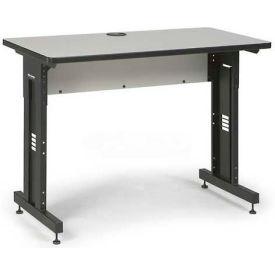 "Kendall Howard™ Classroom Training Table - Adjustable Height - 24"" x 48"" - Folkstone"