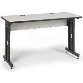 "Kendall Howard™ Classroom Training Table - Adjustable Height - 24"" x 60"" - Folkstone"