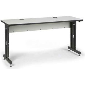 "Kendall Howard™ Classroom Training Table - Adjustable Height - 24"" x 72"" - Folkstone"