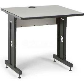 "Kendall Howard™ Classroom Training Table - Adjustable Height - 30"" x 36"" - Folkstone"