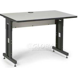"Kendall Howard™ Classroom Training Table - Adjustable Height - 30"" x 48"" - Folkstone"