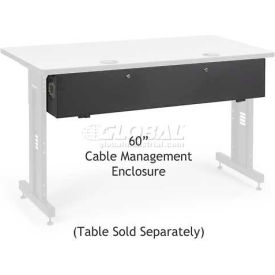 "Kendall Howard™Cable Management Enclosure for 60"" Classroom Training Table"