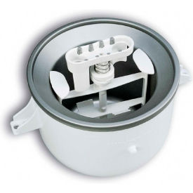 KitchenAid® Ice Cream Maker For All KitchenAid® Mixers Except 7Qt & 8Qt - KICA0WH