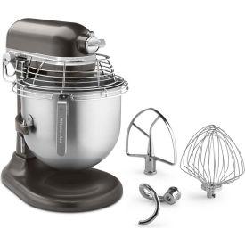 KitchenAid KSMC895DP - Commercial 8 Qt. Stand Mixer With Bowl Guard, Dark Pewter, NSF