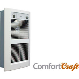 King Electric Series 2 Forced Air Wall Heater LPW1227T-S2-WD-R White 120V 2750W