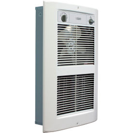 King Electric Series 2 Forced Air Wall Heater LPW2045T-S2-WD-R White 208V 4500W