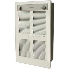 King Pic-A-Watt® Wall Heater With Built-In SP Thermostat LPW2445T, 4500W Max, 240V, Lrg, WHT