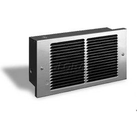 King Pic-A-Watt® Compact Wall Heater PAW2422-SS, 2250W Max, 240V, Stainless Steel