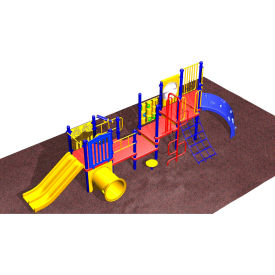 Playsystem - Super Narrow In Red/Yellow/Blue Combination, For Ages 2-5