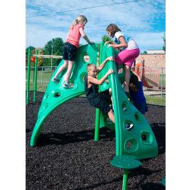 Wild Wall Climber, 3-Section In Green, For Ages 5 To 12