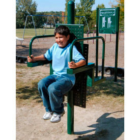 Healthtrek Vertical Curl In Green, For Ages 5 To 12