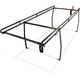 Weather Guard Ladder Rack System, Black Steel Compact Long Bed Size - 1375