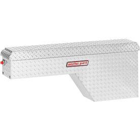 Weather Guard Pork Chop Truck Box, Aluminum Passenger Side Full Size 2.1 Cu. Ft. Cap. - 171-01-01