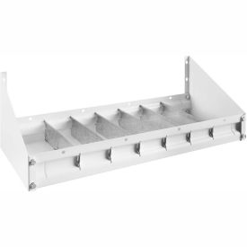"Weather Guard Accessory Parts Cabinet Tray 24""L x 9-1/2""W x 3-1/2""H, Steel White - 202-3"