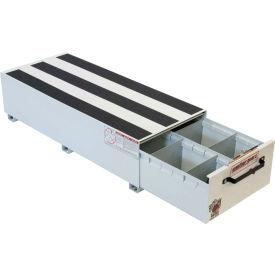 "Weather Guard PACK RAT® 2 Compartment Drawer Unit White, 48""L x 20""W x 12-1/2""H - 336-3"