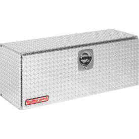 Weather Guard Super Hi-Side Truck Box, Aluminum 11.8 cu. Ft. Capacity - 347-0-02