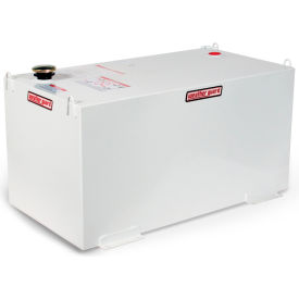Weather Guard Rectangle Transfer Tank White, 100 Gallon Capacity - 358-3-01
